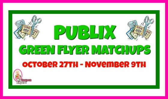 Publix GREEN Flyer Matchups October 27th – November 9th!