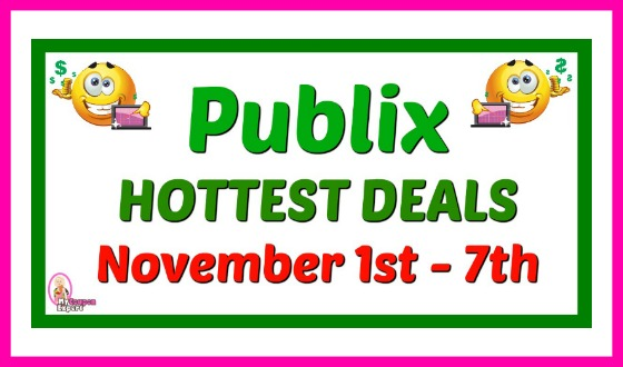 Publix HOT DEALS November 1st – 7th!  GAS CARD WEEK!