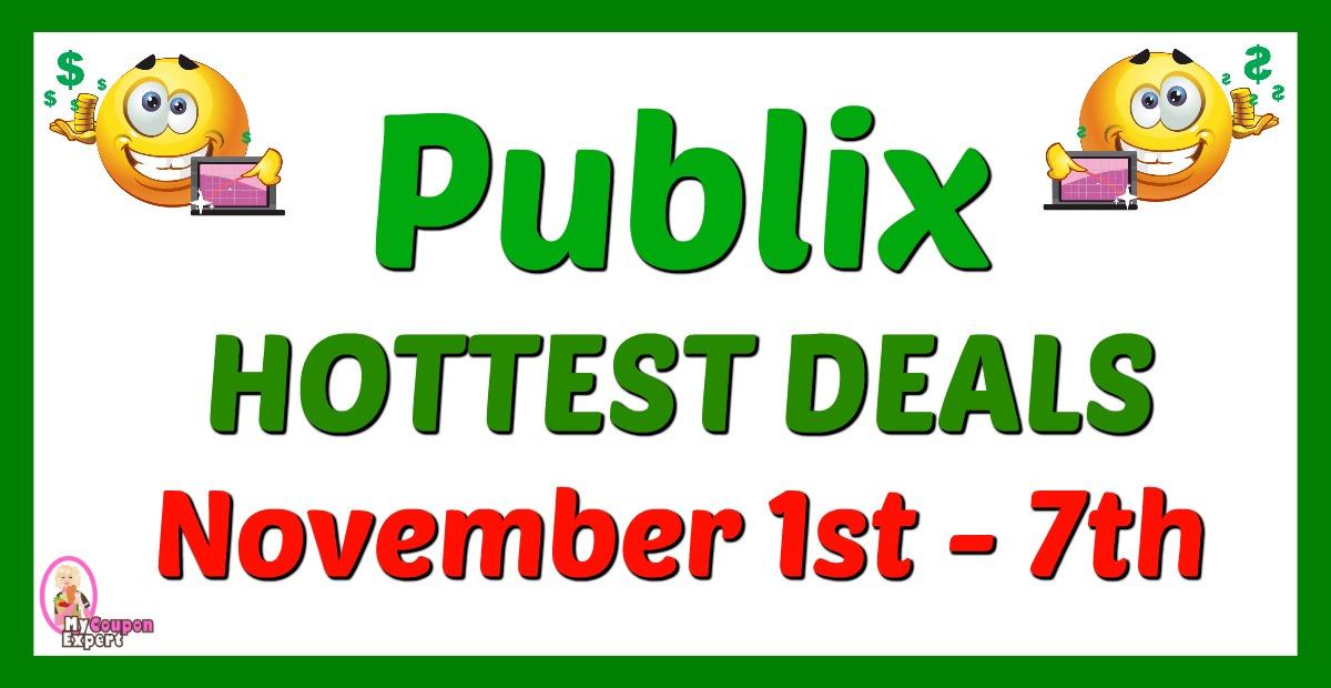 Publix Hot Deals November 1st 7th Gas Card Week