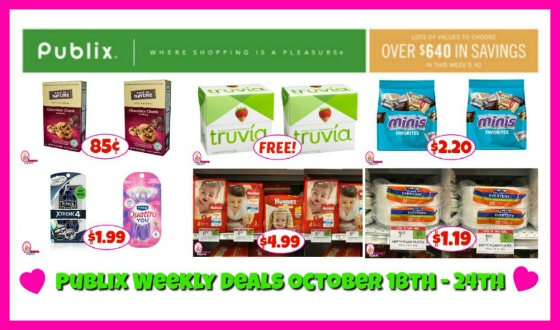 Publix HOTTEST DEALS October 18th – 24th!!