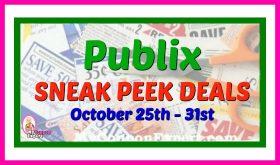 Publix SNEAK PEEK October 25th – October 31st!
