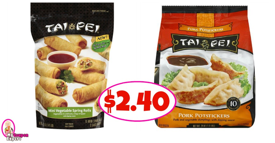 Tai Pei Rolls or Potstickers Only $2.40 at Publix!