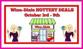 Winn Dixie HOTTEST DEALS October 3rd – 9th!