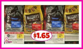 Hershey's Bagged Candy $1.65 at Publix!