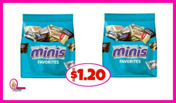 Publix HOT Mars Bagged Candy Deal!  $1.20 each for some!!