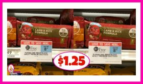 Purina One Smartblend Dog Food $1.25 at Publix!