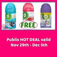Air Wick Freshmatic Ultra Refills FREE at Publix!