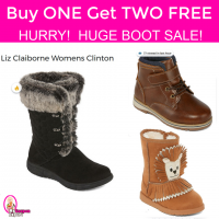 HUGE Boot Sale Buy ONE get TWO FREE!! HURRY!