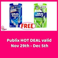 FREEBIE ALERT!  Gillette Razors at Publix!