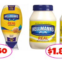 Hellmann's Mayo as low as $1.50 at Publix!