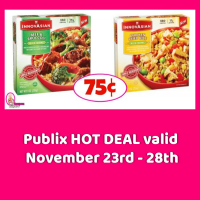 InnovAsians Single Entree 75¢ each at Publix!