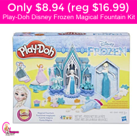Only $8.94 (reg $16.99) Play-Doh Disney Frozen Magical Fountain Kit!