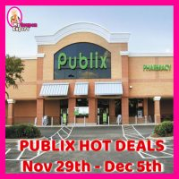 Publix HOTTEST DEALS Nov 29th – Dec 5th!