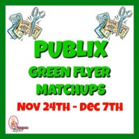 Publix GREEN FLYER Matchups Nov 24th – Dec 7th!