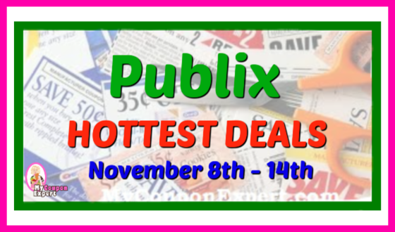 Publix HOTTEST DEALS November 8th – 14th!!
