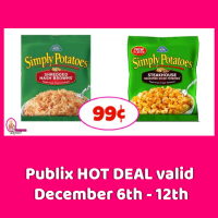 Simply Potatoes Hashbrowns 99¢ at Publix!