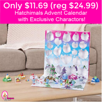TODAY ONLY!  Hatchimals CollEGGtibles – Advent Calendar w/ Characters!
