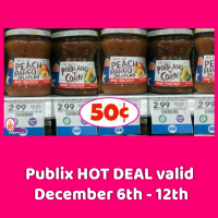 PACE Chunky Texas Salsa 50¢ each at Publix!