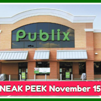 Publix SNEAK PEEK November 15th – 21st!  BIG Thanksgiving Ad!