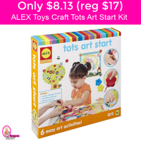 Only $8.13 (reg $17) ALEX Toys Craft – Tots Art Start Kit!
