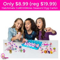HURRY!  Only $8.99 (reg $19.99) Hatchimals CollEGGtibles Season 2 Egg Carton!