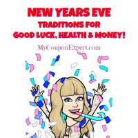 New Years Eve Traditions for GOOD LUCK, HEALTH & MONEY!!