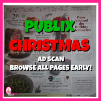 PUBLIX CHRISTMAS AD SCAN!  Browse all pages early!