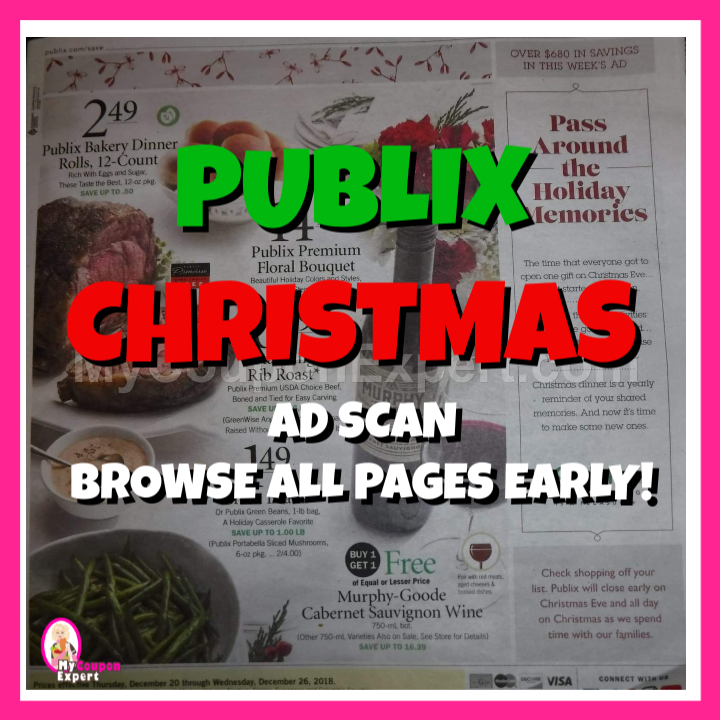 Publix Christmas Eve Hours.Publix Christmas Ad Scan Browse All Pages Early