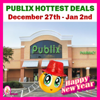 Publix HOT DEALS and MATCHUPS December 27th – January 2nd!!