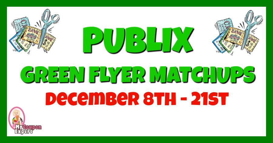 Publix Green Flyer Deals Dec 8th 21st