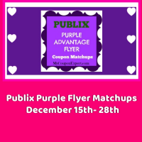 Publix Purple Flyer Matchups December 15th – 28th!