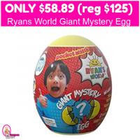 Ryan's World Giant Mystery Egg Only $58.89 (reg $125)!