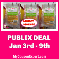 Applegate Organic Cheese Slices Money Maker at Publix!