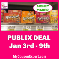 Flintstones Vitamin BIG Money Maker at Publix! *NEW PRINTABLE*