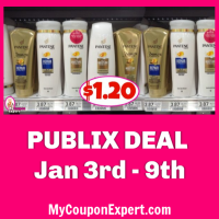 Pantene Shampoo, Conditioner or Stylers $1.20 at Publix!