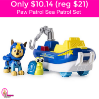 TODAY ONLY!  $10.14 (reg $21) Paw Patrol Sea Patrol Set!