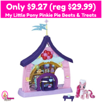 My Little Pony Pinkie Pie Beats and Treats Only $9.27 (reg $29.99)!!