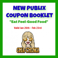 NEW Publix Coupon Booklet! Eat Feel-Good Food Valid 1/26-2/23