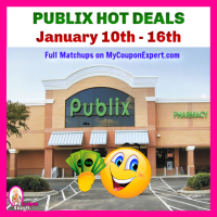 Publix HOTTEST DEALS January 10th – 16th!!