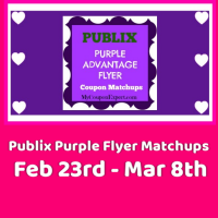 Publix Purple Flyer Matchups February 23rd – March 8th!