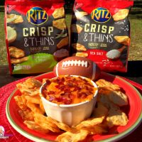 Enjoy Game Day with RITZ Crisp & Thins plus a GIVEAWAY!