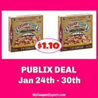 Screamin' Sicilian Single Pizzas $1.10 at Publix!