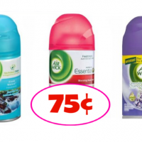 Air Wick Freshmatic Refills Only 75¢ each after sale and coupons