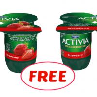 Activia Yogurt 4 pack FREE for some at Winn Dixie!