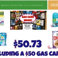 *EXTREME* Publix Gas Card Scenario pay $50.73 INCLUDING a $50 Gas Card!