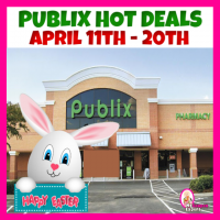 PUBLIX HOTTEST DEALS April 11th – 20th! HUGE EASTER AD!