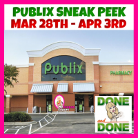 PUBLIX SNEAK PEEK DEALS March 28th – April 3rd!