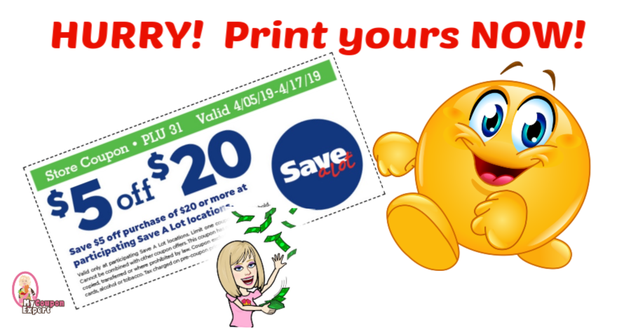 picture about Coupongreat Com Printable Coupons identified as Conserve A Whole lot $5/$20 printable coupon! Fantastic towards seek the services of as a