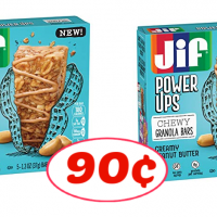 Jif Power Ups Chewy Granola Bars just 90¢ each at Publix!