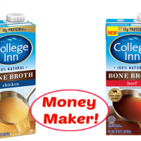 College Inn Bone Broth MONEY MAKER at Publix NOW through April 10th!